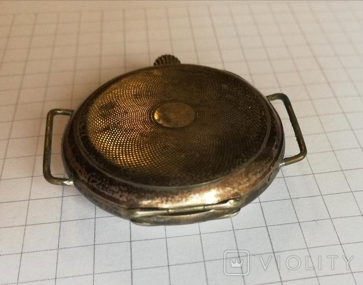 Карманные серебряные часы механика не на ходу, фото №6