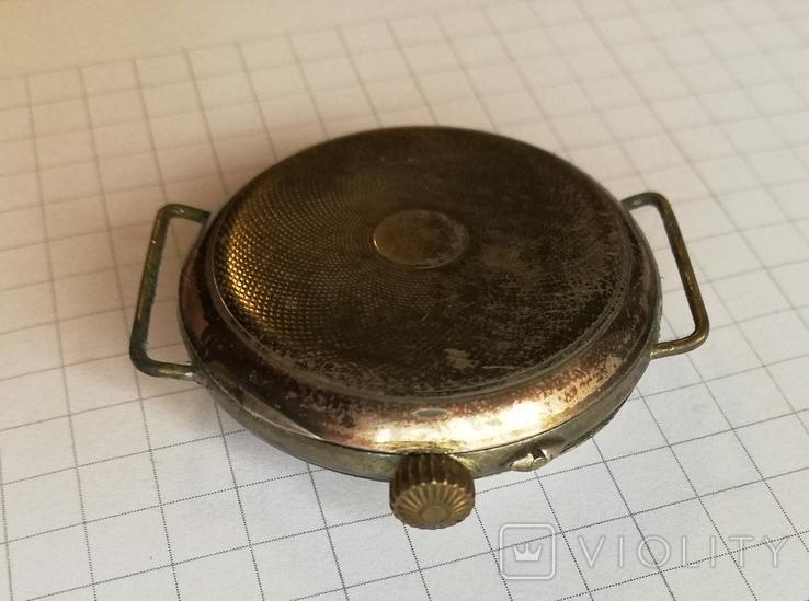 Карманные серебряные часы механика не на ходу, фото №7