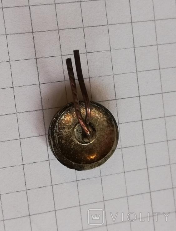 Петлица с короной двумя стрелами и горном, фото №2