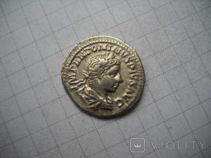 Денарий Элагабал (218-222), фото №2