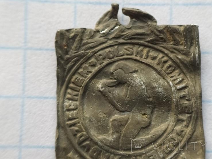 Знак Комітет опіки 1928 рік, фото №3