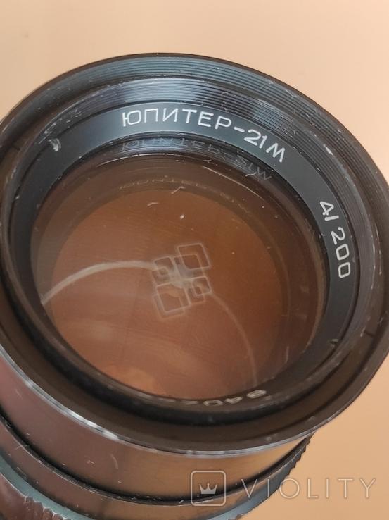 Объектив Юпитер - 21М. Лот 2, фото №4