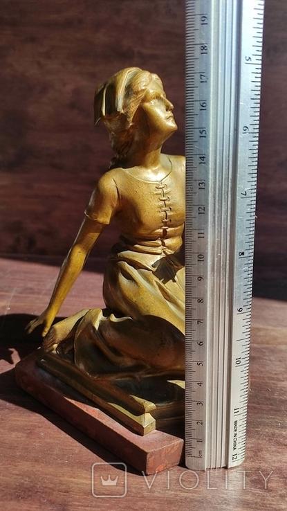 Старая фигура Жанны Дарк, фото №3