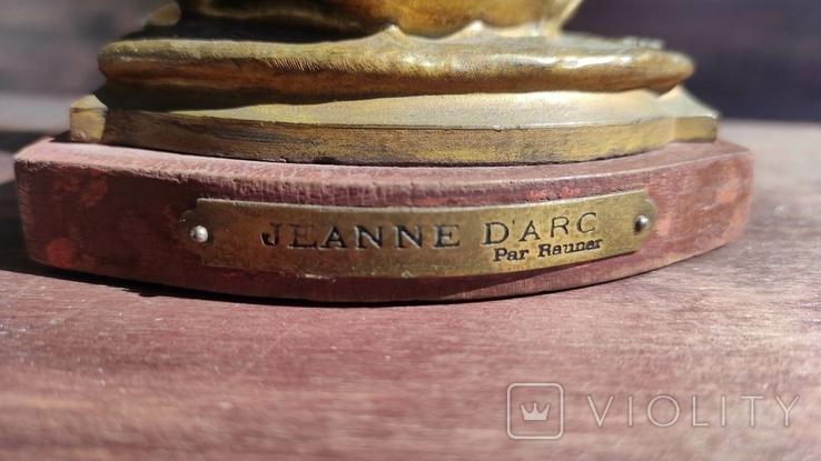 Старая фигура Жанны Дарк, фото №7