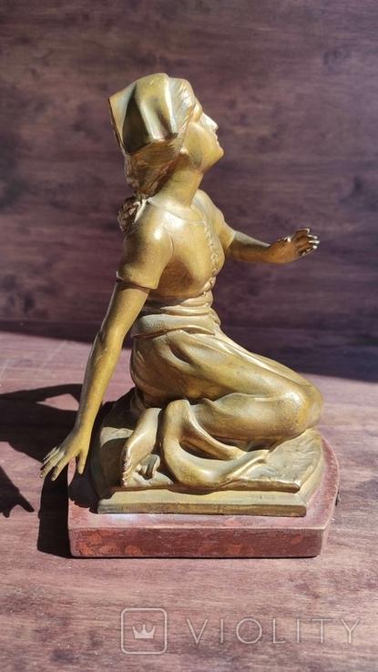 Старая фигура Жанны Дарк, фото №8