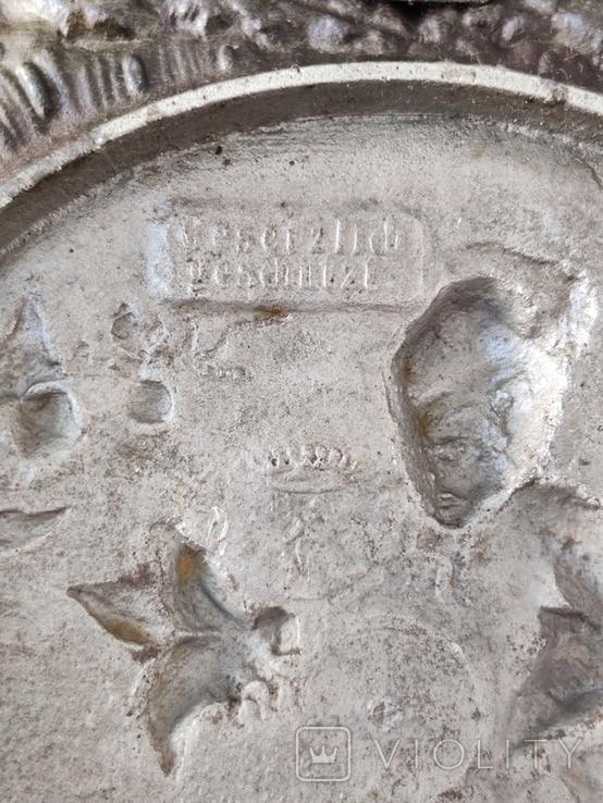 Настенная чугунная Тарелка ( Германия ), фото №8