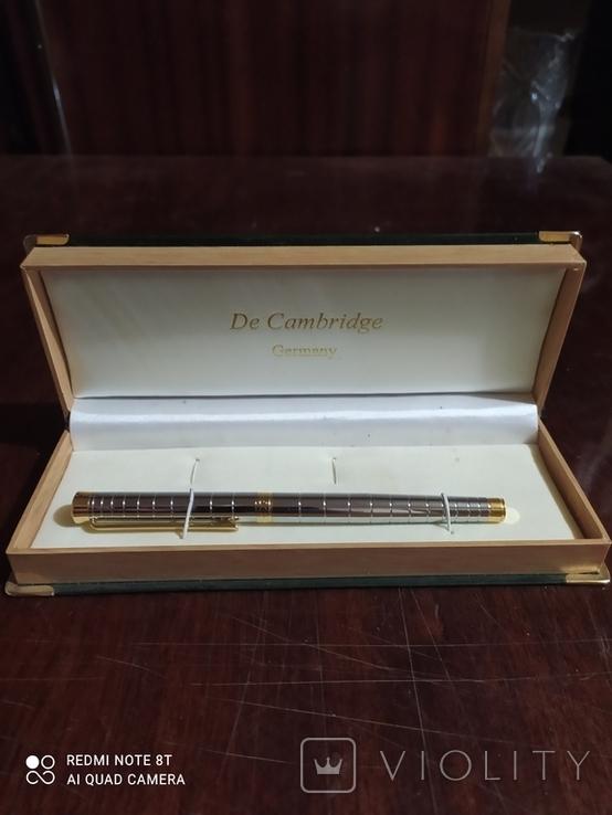 """Перьевая ручка """" De Cambridge """" ., фото №3"""