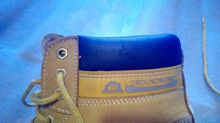 Защитные ботинки Groundwork safety оригинал.42р., фото №11