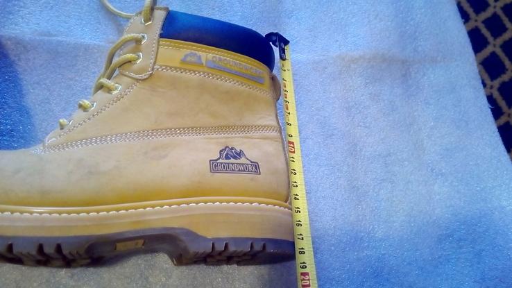 Защитные ботинки Groundwork safety оригинал.42р., фото №12