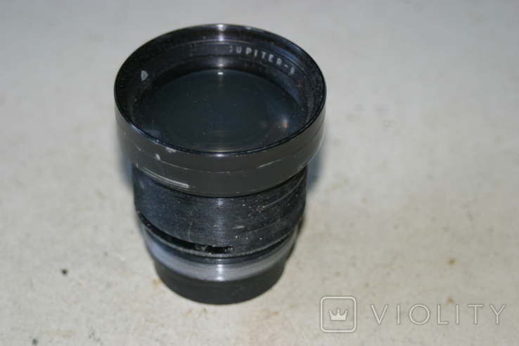 Линзоблок Jupiter-9, 1:2, 85mm, фото №2
