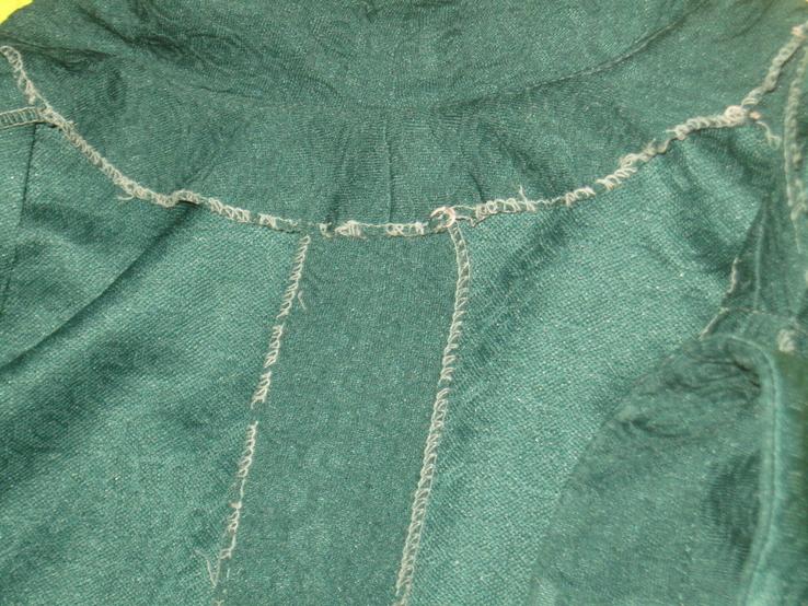 Кримпленовое платье СССР. 58, фото №7