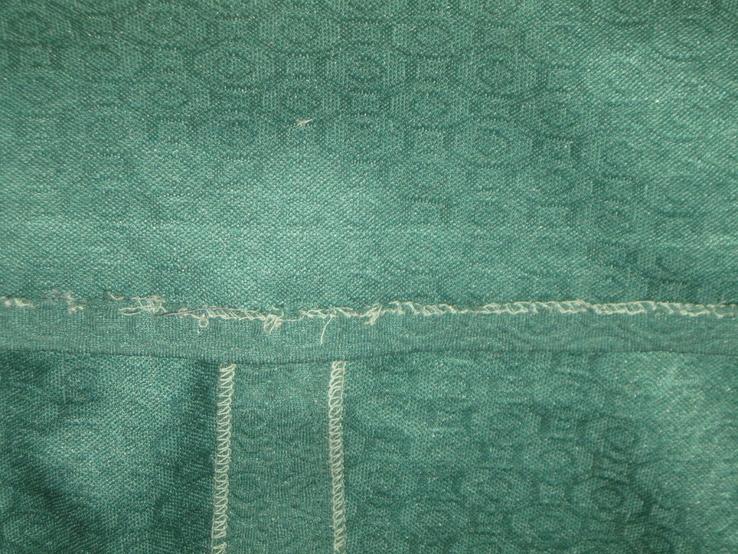 Кримпленовое платье СССР. 58, фото №8