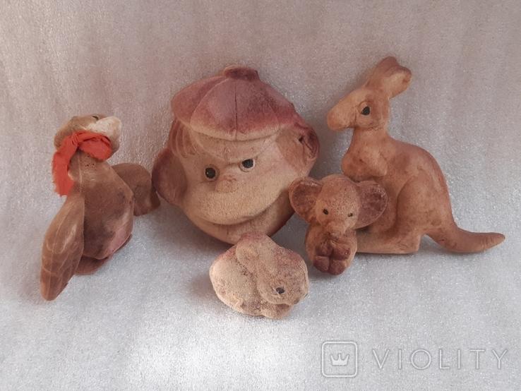 Игрушки из поролона, фото №2