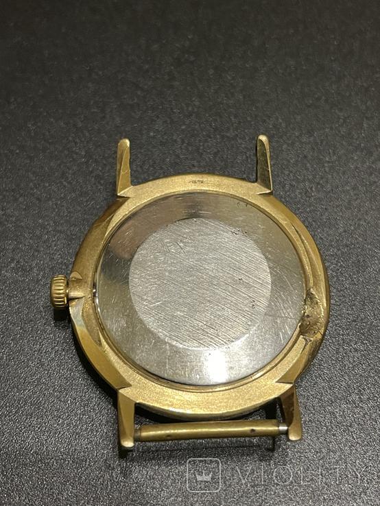 Часы наручные СССР Полёт Де Люкс Ау10 на уверенном ходу, фото №3