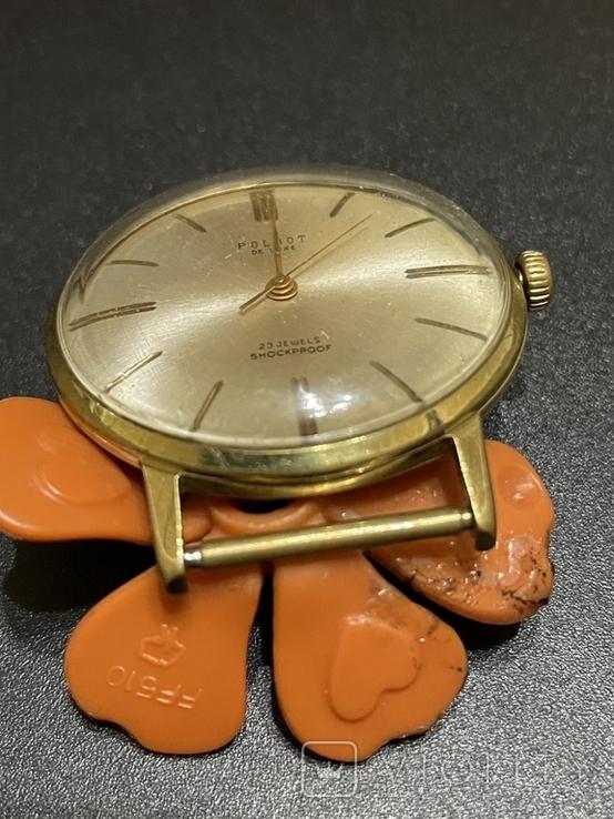 Часы наручные СССР Полёт Де Люкс Ау10 на уверенном ходу, фото №5