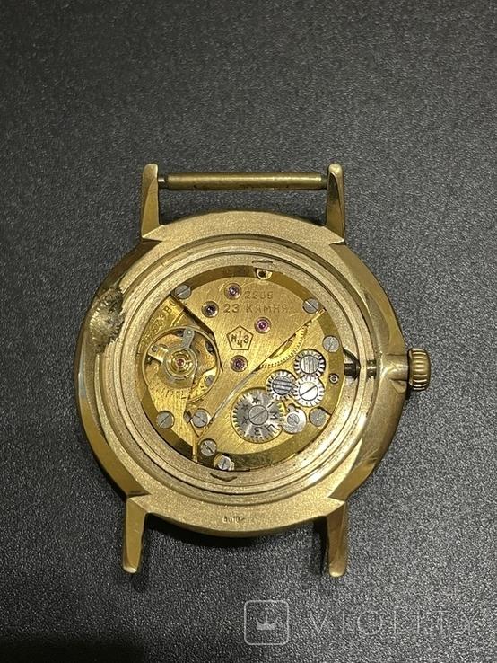 Часы наручные СССР Полёт Де Люкс Ау10 на уверенном ходу, фото №8