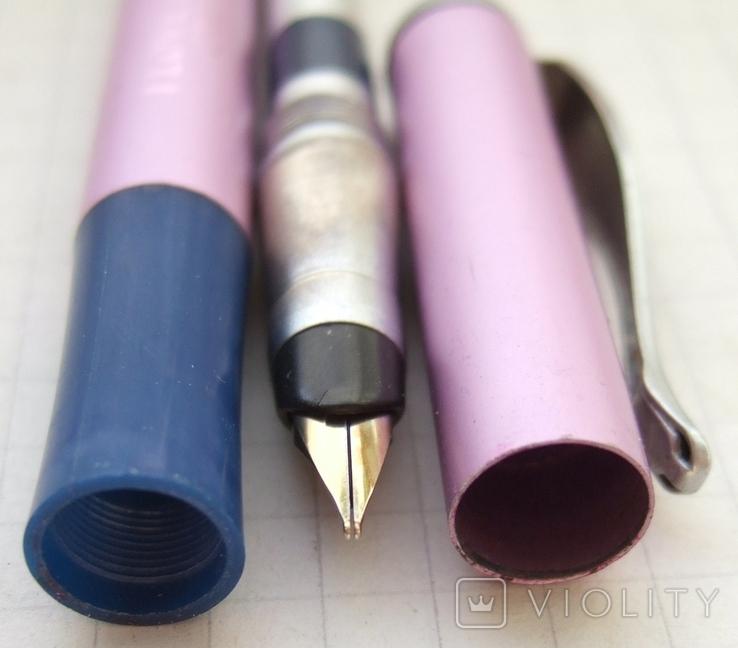 """Перьевая ручка """"Dolphin-278G"""". Пишет довольно мягко и очень насыщенно., фото №7"""