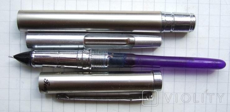 Перьевая ручка FengFei-1688 Пишет довольно мягко, тонко и насыщенно, фото №5