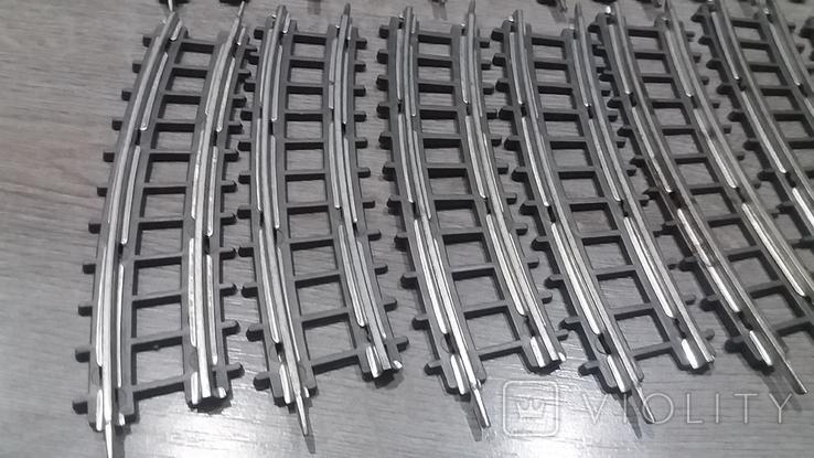 Рельсы от Железной дороги производства Московского завода Механической заводной игрушки, фото №5