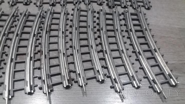 Рельсы от Железной дороги производства Московского завода Механической заводной игрушки, фото №6