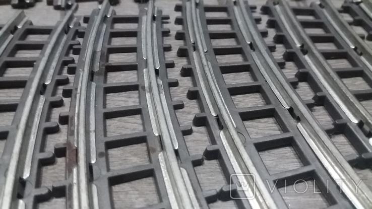Рельсы от Железной дороги производства Московского завода Механической заводной игрушки, фото №10