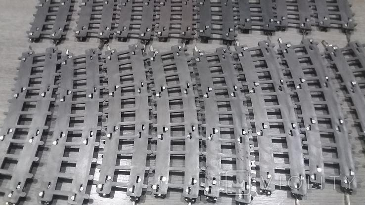 Рельсы от Железной дороги производства Московского завода Механической заводной игрушки, фото №12