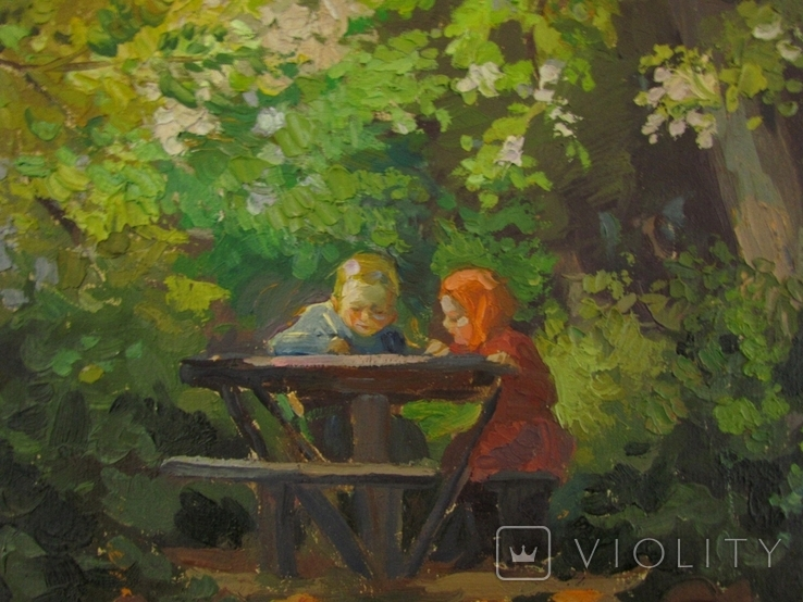 "В. Павлюченко "" Юнї художники "" 1960 р., фото №3"