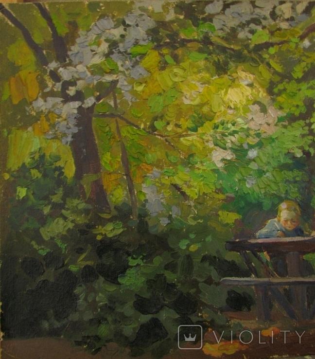 "В. Павлюченко "" Юнї художники "" 1960 р., фото №8"