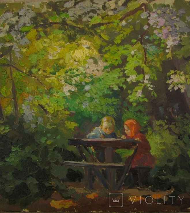 "В. Павлюченко "" Юнї художники "" 1960 р., фото №9"