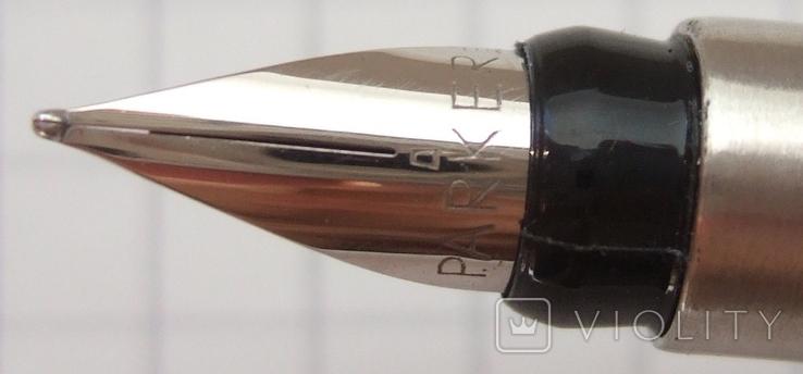 Новая ручка Parker Vector, made in UК. Перо F. Оригинал. Пишет мягко и тонко, фото №3