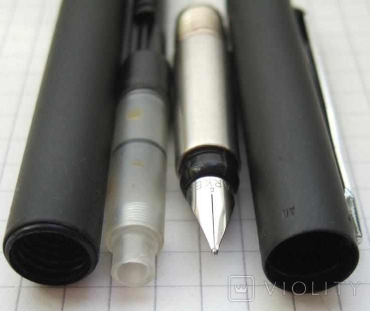 Новая ручка Parker Vector, made in UК. Перо F. Оригинал. Пишет мягко и тонко, фото №7