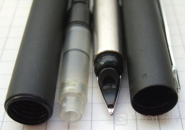 Новая ручка Parker Vector, made in UК. Перо F. Оригинал. Пишет мягко и тонко, фото №8