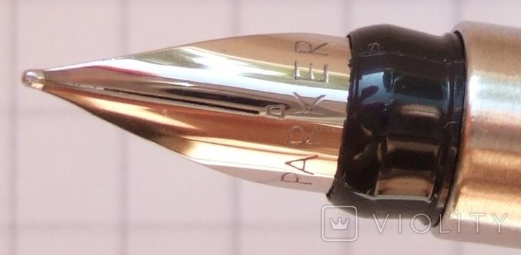 Новая перьевая ручка Parker Vector Flighter, made in USA. Перо F. Оригинал., фото №3