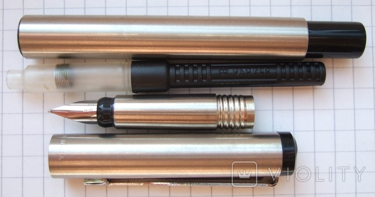 Новая перьевая ручка Parker Vector Flighter, made in USA. Перо F. Оригинал., фото №5