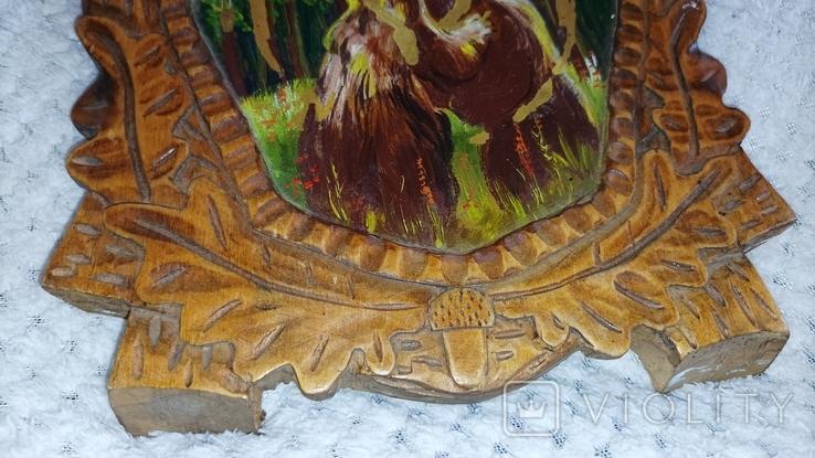 Дерев'яна картина, фото №5