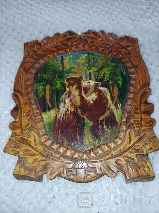 Дерев'яна картина, фото №2