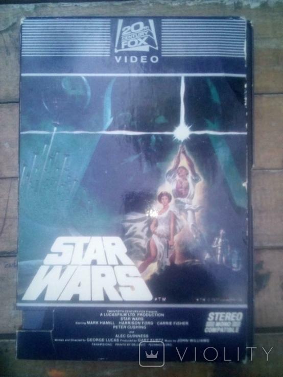 Видео кассета звёздные войны США 1982:год, фото №2
