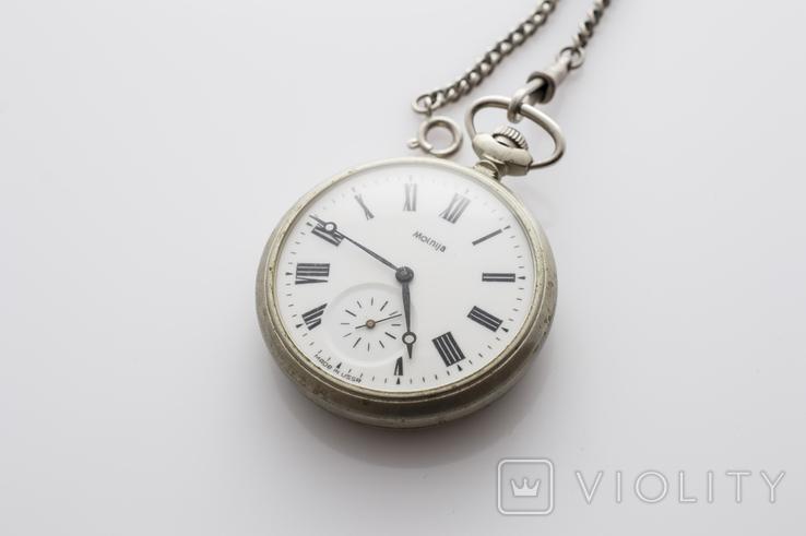 """Годинник кишеньковий """"Молнія"""" кораблик, фото №2"""