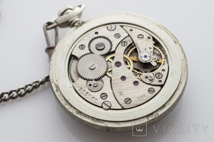 """Годинник кишеньковий """"Молнія"""" кораблик, фото №9"""