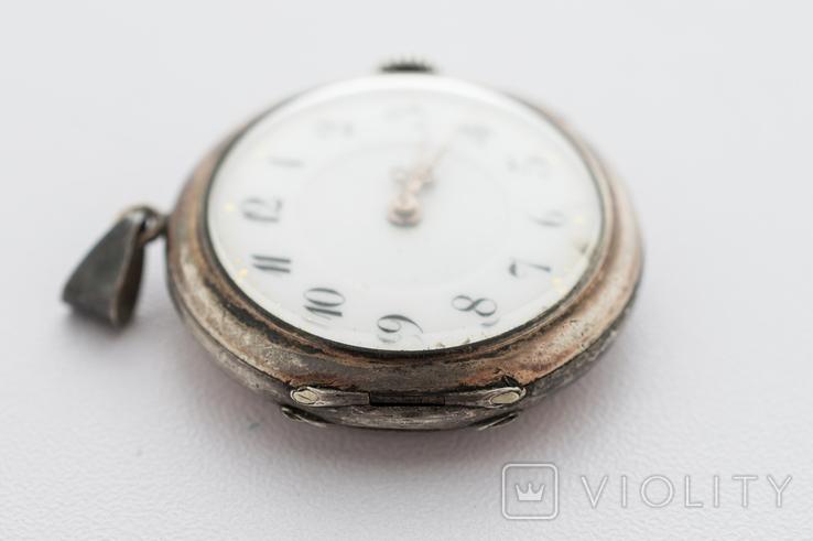 Годинник-підвіска срібний жіночий, фото №4