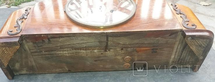 Часы интерьерные с маятником, фото №6