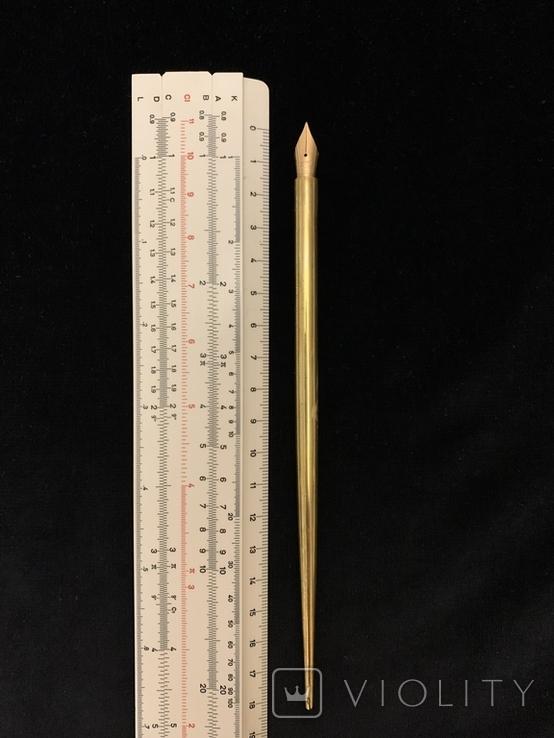 Ручка с золотым пером, фото №2