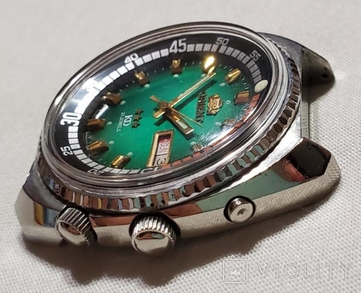 Японские часы Orient-KD королевский дайвер 1970 годов Japan., фото №4