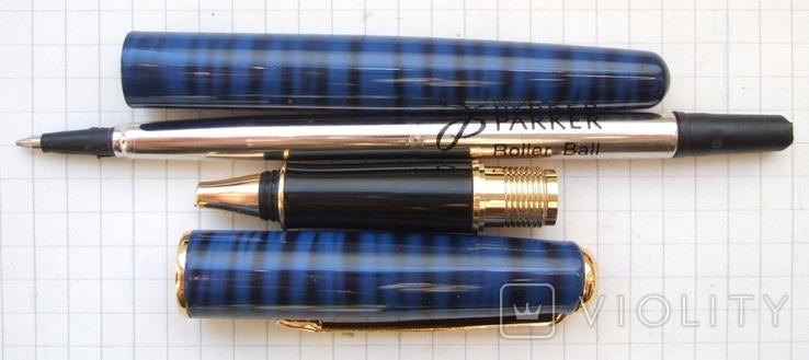 Новая ручка - роллер Parker Sonnet с футляром и паспортом., фото №4