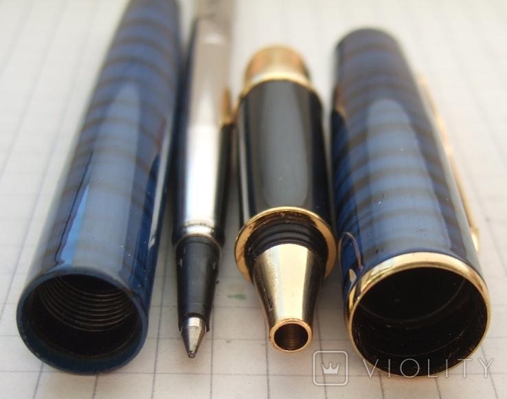 Новая ручка - роллер Parker Sonnet с футляром и паспортом., фото №6