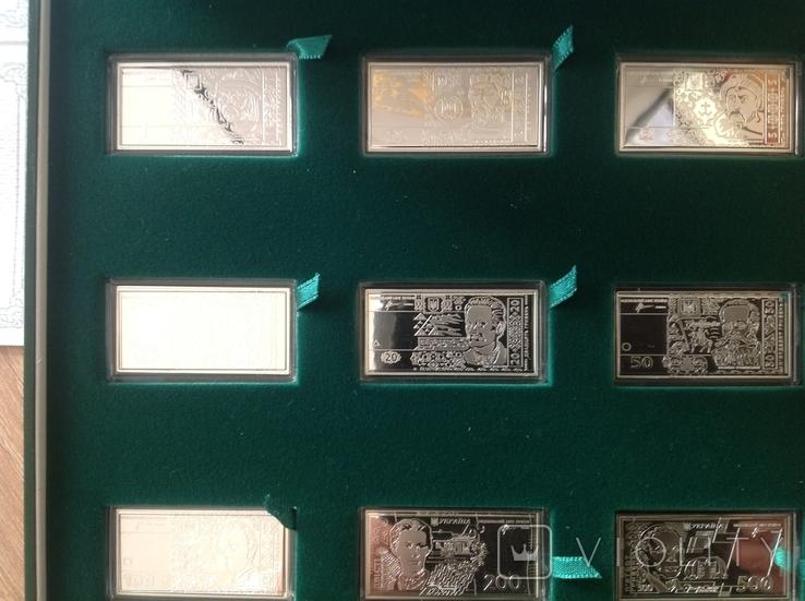 Набiр НБУ банкнот-мiнiатюp 2012р, фото №5