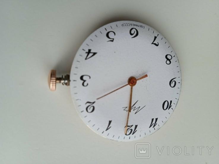 Заводная головка от золотых часов Луч, фото №3