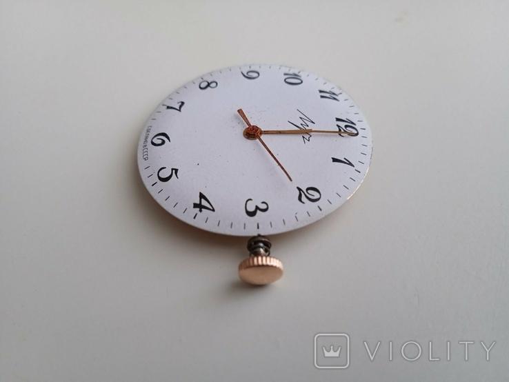 Заводная головка от золотых часов Луч, фото №2