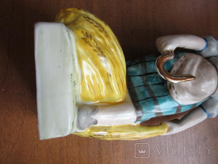 Девушка со снопами 2 Барановка (?) автор Назаренко (?) читайте описание, фото №4