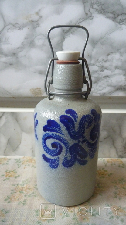 Бутылка керамика.Германия. 0.5л, фото №2